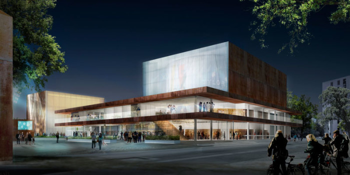 schmidt hammer lassen architects wins competition for Danish Theatre