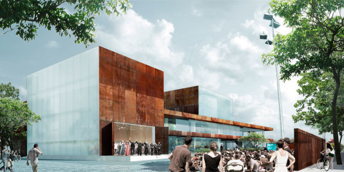 Vendsyssel Theatre and Experience Centre by schmidt hammer lassen architects