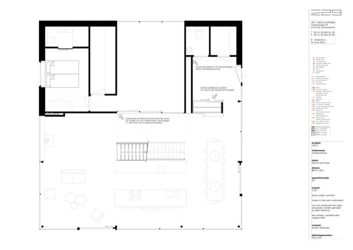 Home 09 by i29 interior architects - Plan