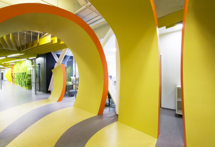 Yandex Saint Petersburg Office II by za bor architects