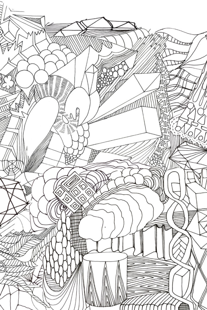 Doodle Sofa by Front for Moroso - Pattern Sketch