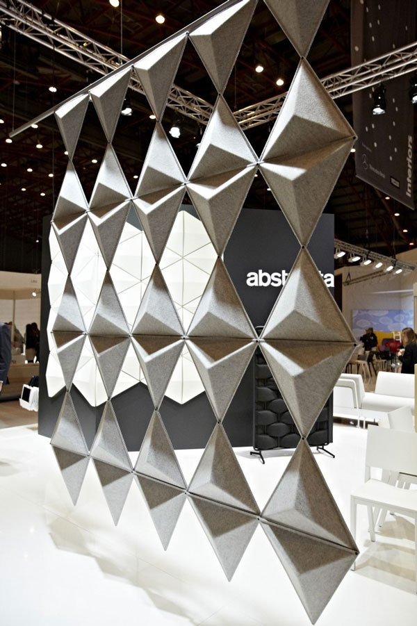 Aircone Acoustical Panel by Stefan Borselius for Abstracta