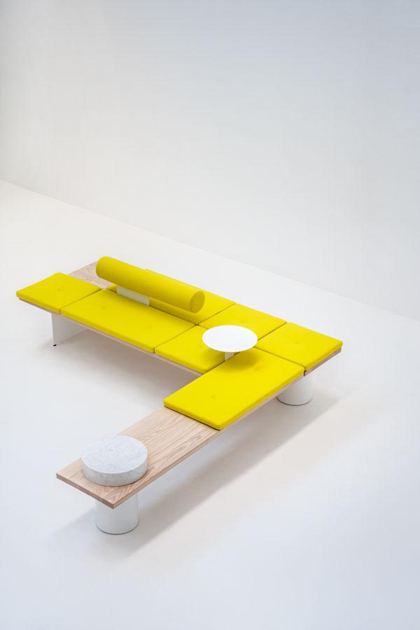 Modular System Galleria by Pearson Lloyd for Tacchini