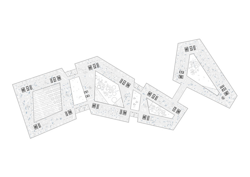 Nordea Bank by Henning Larsen Architects - Plan Levels 03-05