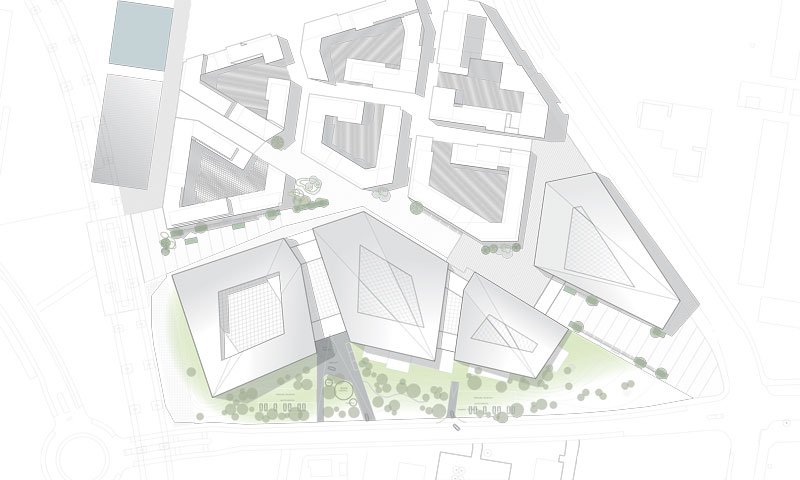 Nordea Bank by Henning Larsen Architects - Site Plan