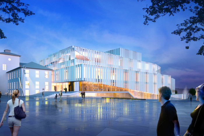 Kristiansund Opera And Culture Centre by C.F. Møller Architects