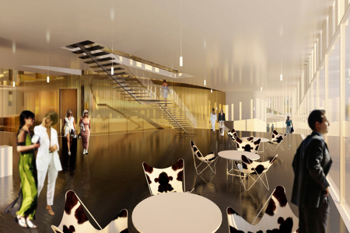Kristiansund Opera And Culture Centre by C.F. Møller Architects - Interior view of main foyer