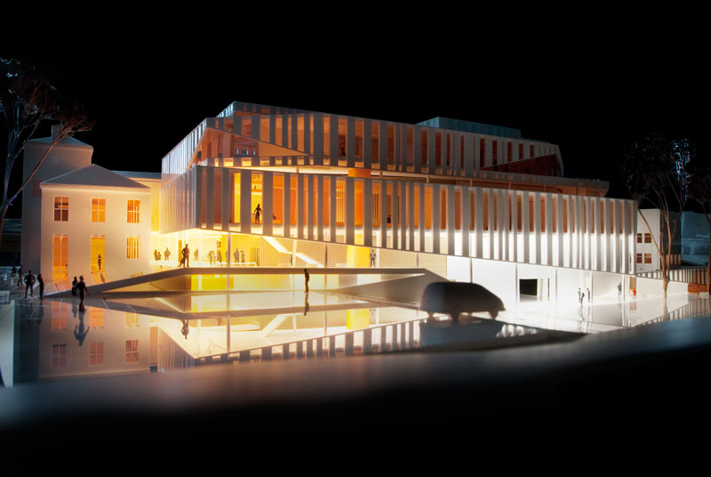Kristiansund Opera And Culture Centre by C.F. Møller Architects - Model