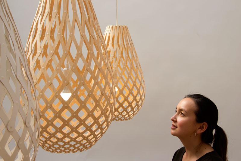 Koura Pendant Light by David Trubridge