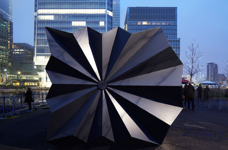 Origami Inspired Kiosks By Make Architects Design Chronicle
