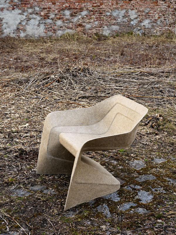 Hemp Chair by Werner Aisslinger