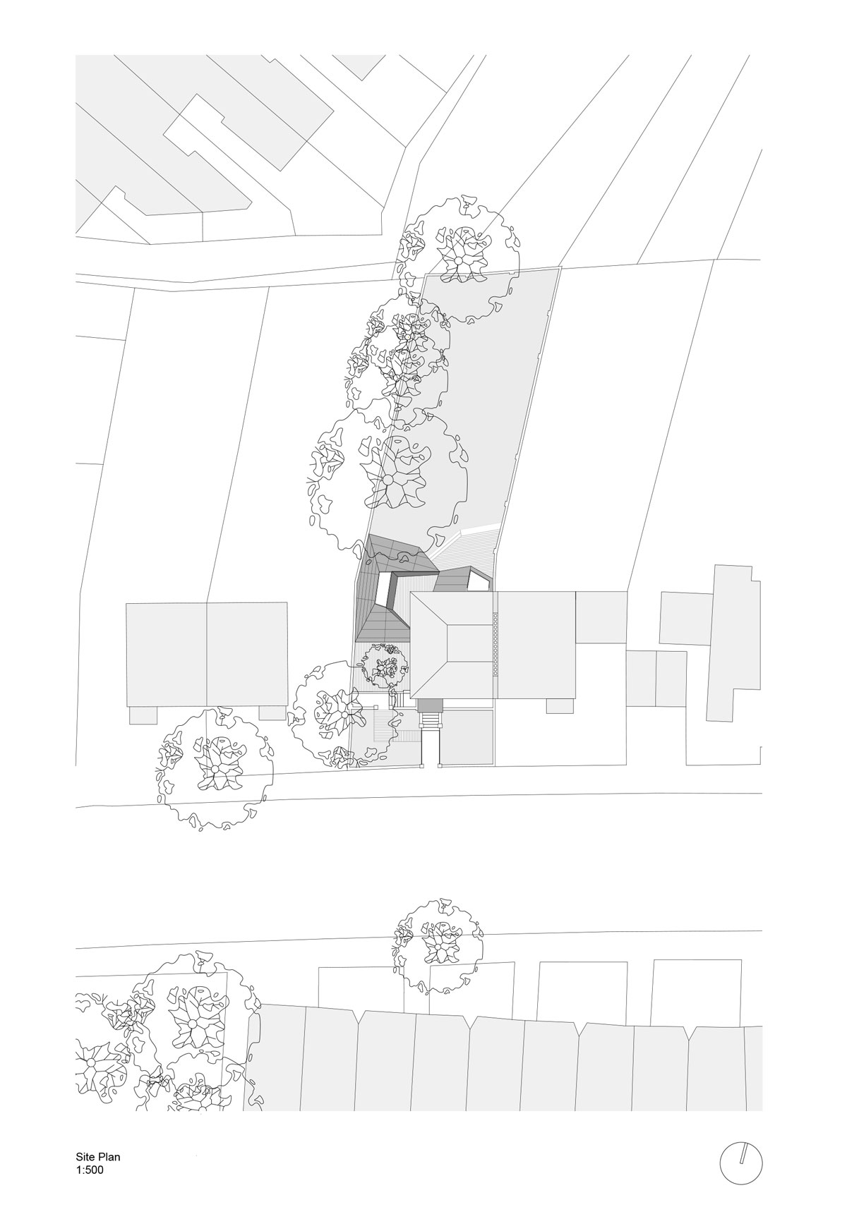 Lens House Extension by Alison Brooks Architects - Site Plan