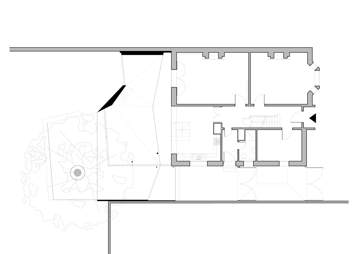 Alison Brooks Architects - Wrap House - Plan