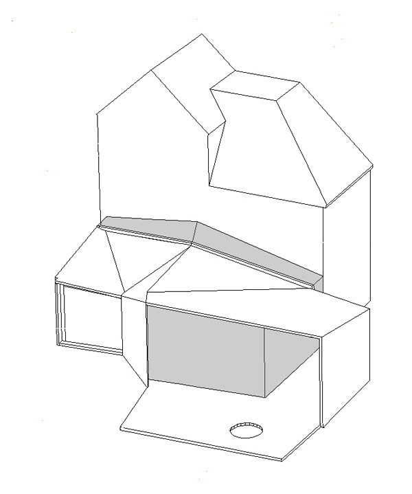 Alison Brooks Architects - Wrap House - Plan