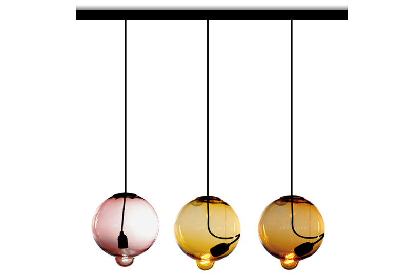 Meltdown Pendant Light by Cappelini