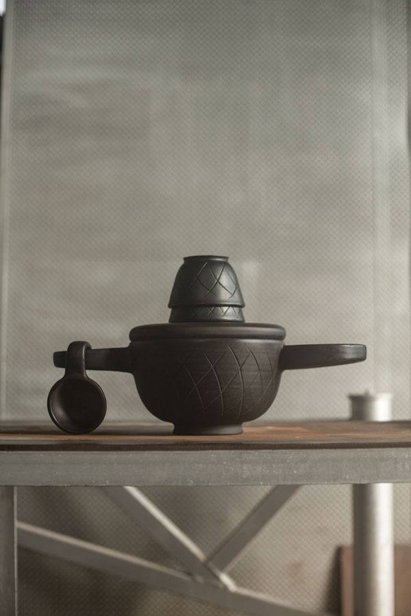 Cheburashka Tableware Set by Luca Nichetto and Lera Moisseva for Dymov Ceramics