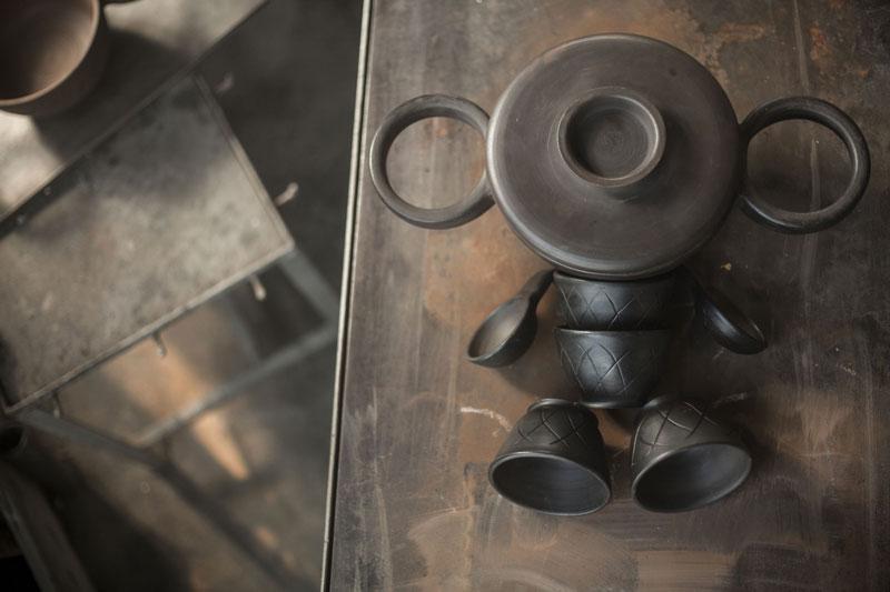 Cheburashka Tableware Set by Luca Nichetto and Lera Moisseva for Dymov Ceramics
