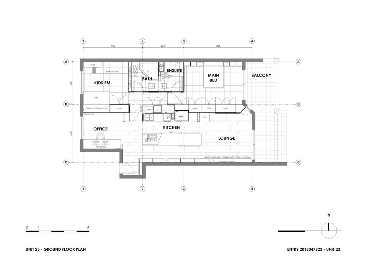 Unit 23 by Daarc - Architects + Interiors - Plan