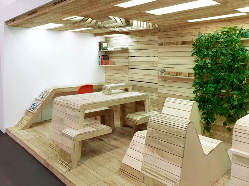 POP-UP Office by Dubbeldam Architecture + Design