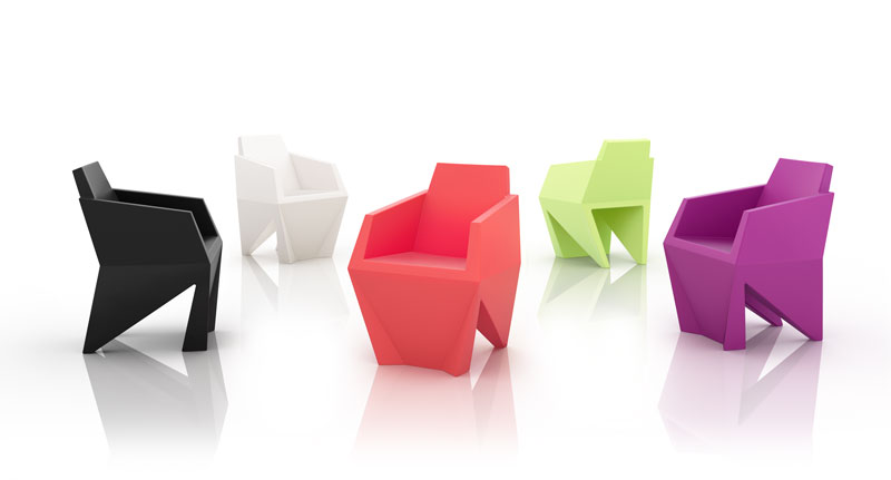 Gemma Armchair by Karim Rashid for B-LINE