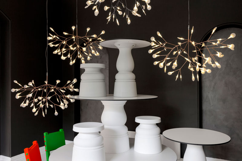 Heracleum II Chandelier by Moooi
