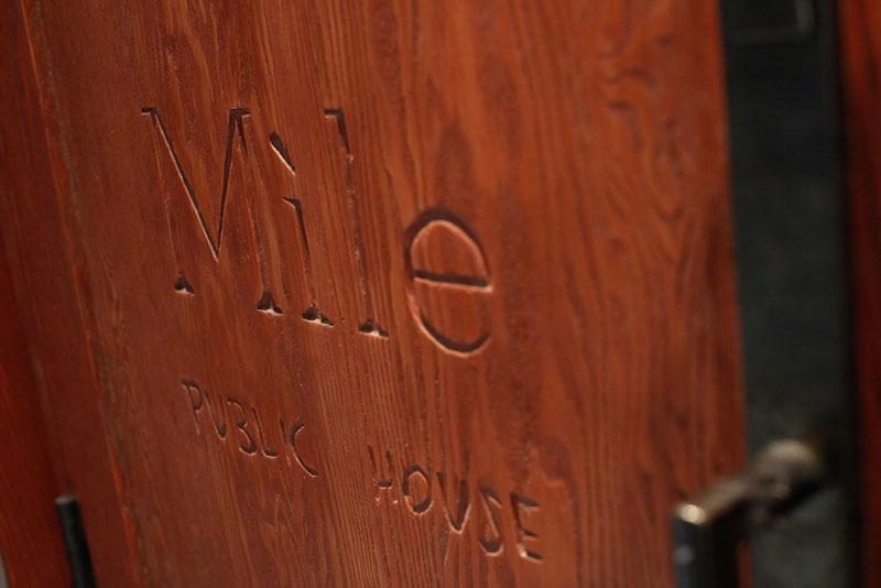 Mile Public House by Humà design