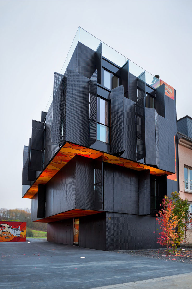 Apartment building in Cessange, Luxembourg by Metaform
