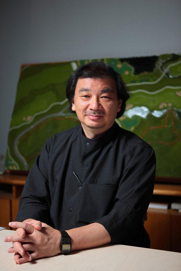 Shigeru Ban Portrait