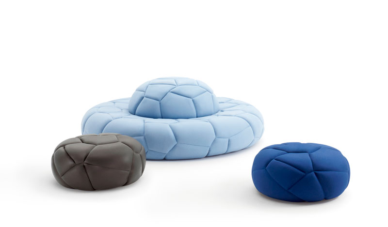 Bubbles Seating by busk+hertzog for +HALLE