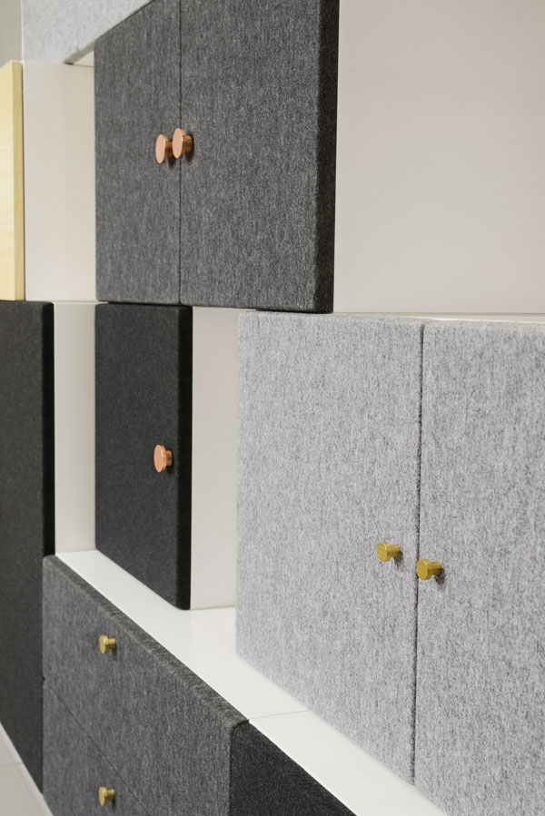 Elegant Tetris Storage System By Front For Horreds   Detail