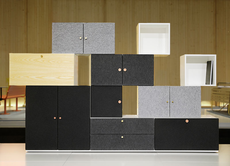 Tetris Storage System By Front For Horreds