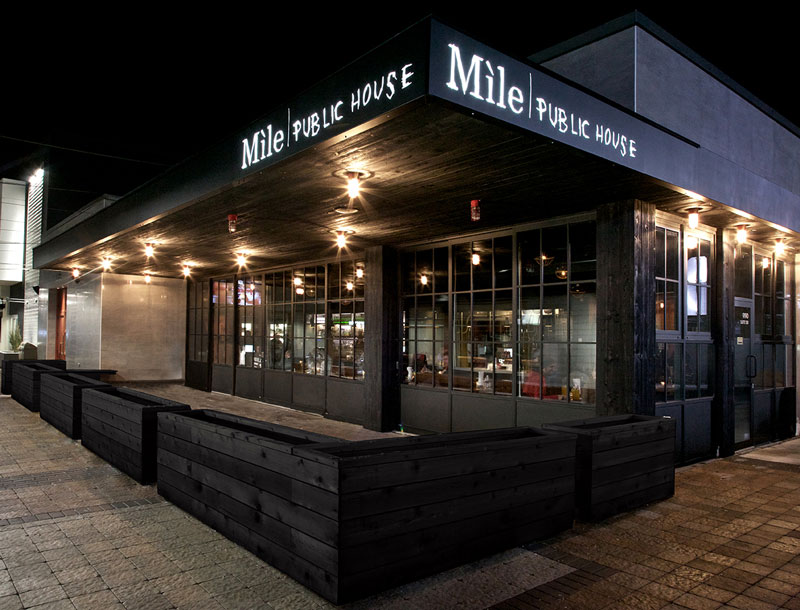 Mile Public House by Humà design