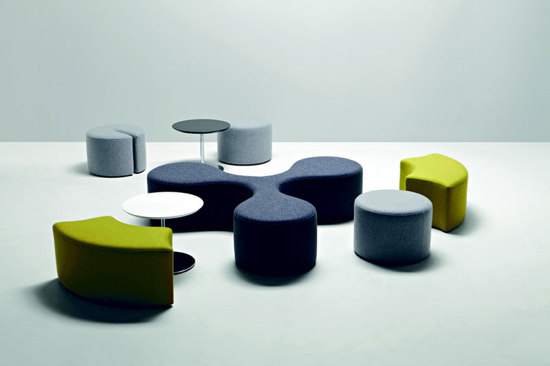 Molecule Seating by Stefano Bigi for La Cidivina