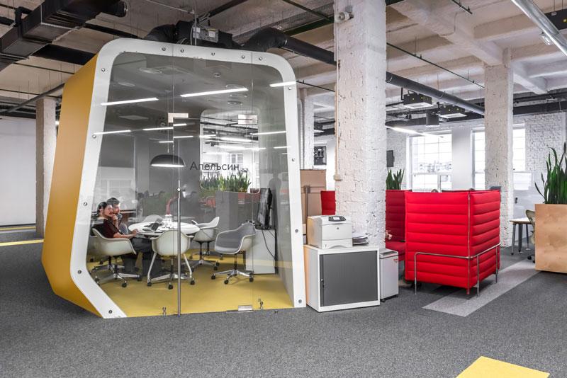 Yandex Stroganov Office in Moscow by za bor architects
