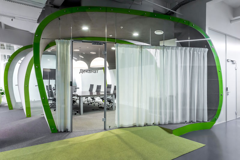 Yandex Stroganov Office in Moscow by za bor architects