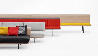 Zinta Modular Sofa by Lievore Altherr Molina for Arper