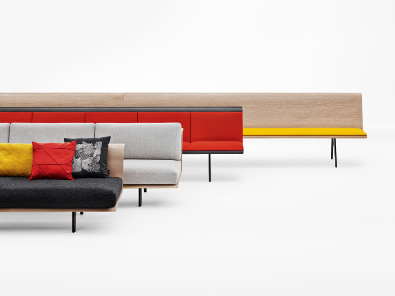 Arper Introduces Zinta Modular Sofa