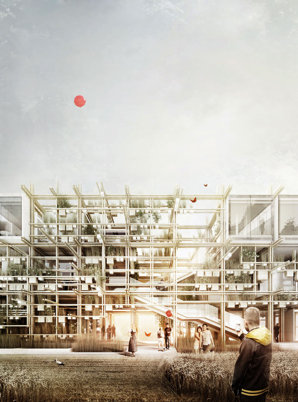 """Austria. Naturally Yours"" - Penda's Austrian Pavilion for the 2015 Milan Expo"