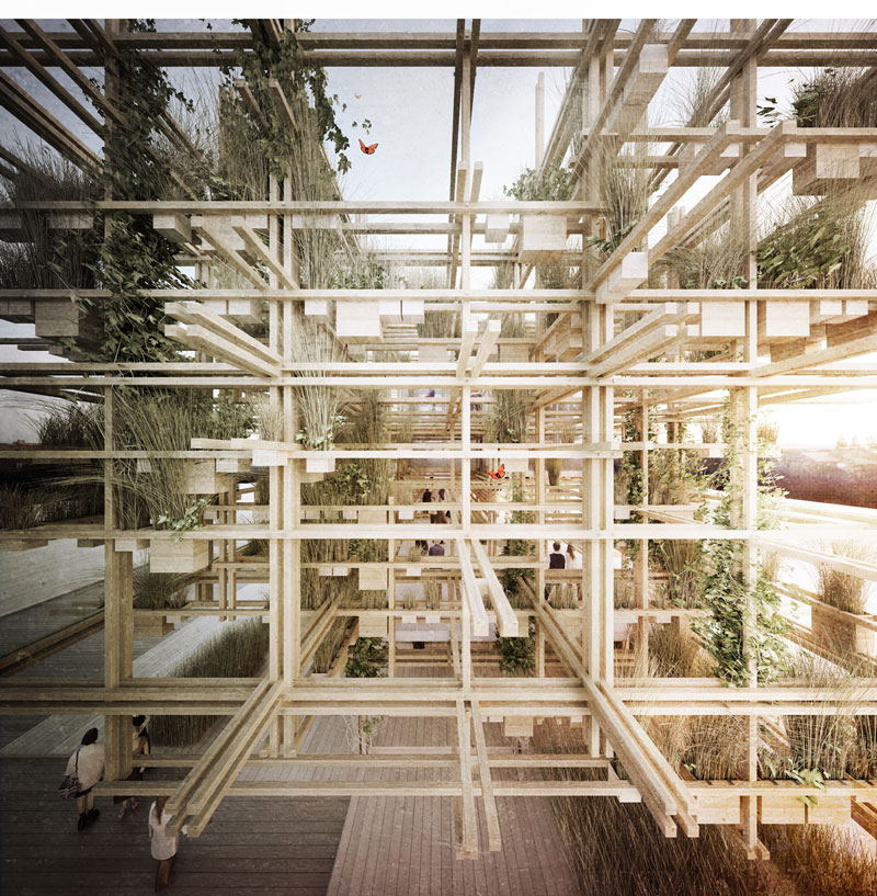 """Austria. Naturally Yours"" - Penda's Austrian Pavilion for the 2015 Milan Expo"