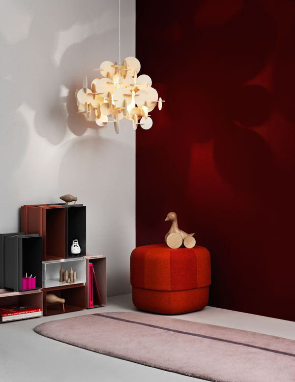 Bau - A DIY hanging light with attitude by Vibeke Fonnesberg Schmidt for Normann Copenhagen