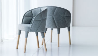 Emily Chair by Färg & Blanche for Gärsnäs