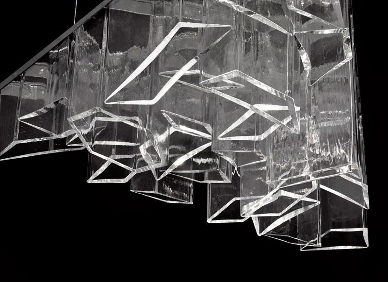 Ice Chandelier by Daniel Libeskind for Lasvit