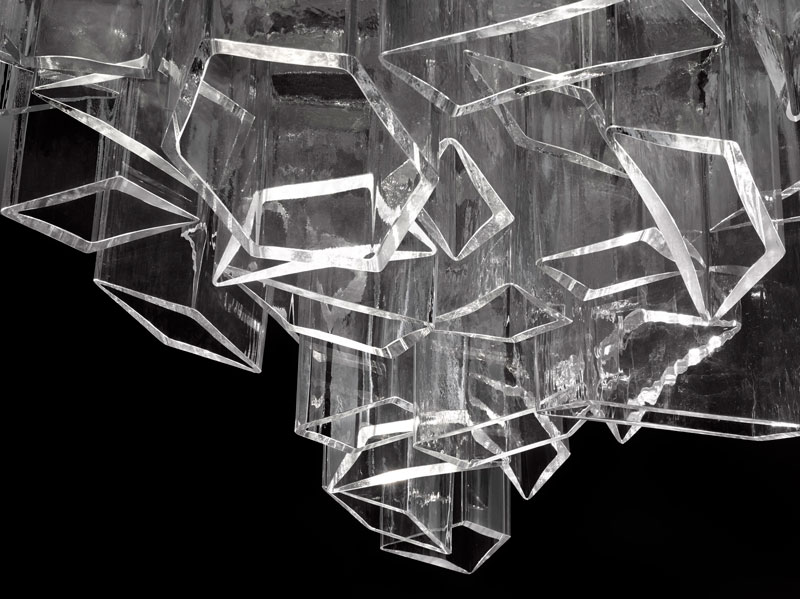 Daniel Libeskind Creates the Ice Chandelier for Lasvit