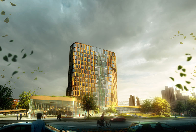 Maersk Building for University of Copenhagen by C.F. Møller