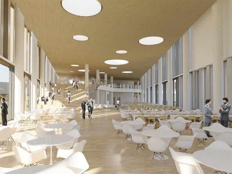 Maersk Building for University of Copenhagen by C.F. Møller