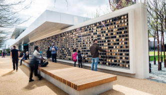Make's first legacy building (Podium) opens at Queen Elizabeth Olympic Park
