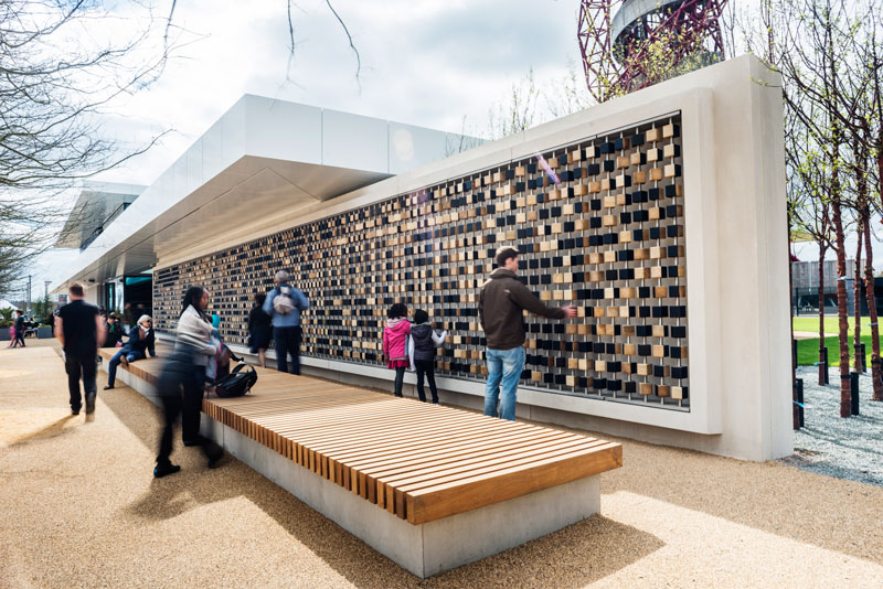 Make's first legacy building opens at Queen Elizabeth Olympic Park