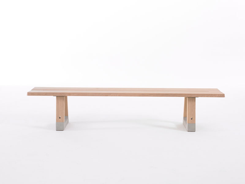 Base Bench by Jorre van Ast for Arco - Local Wood Collection