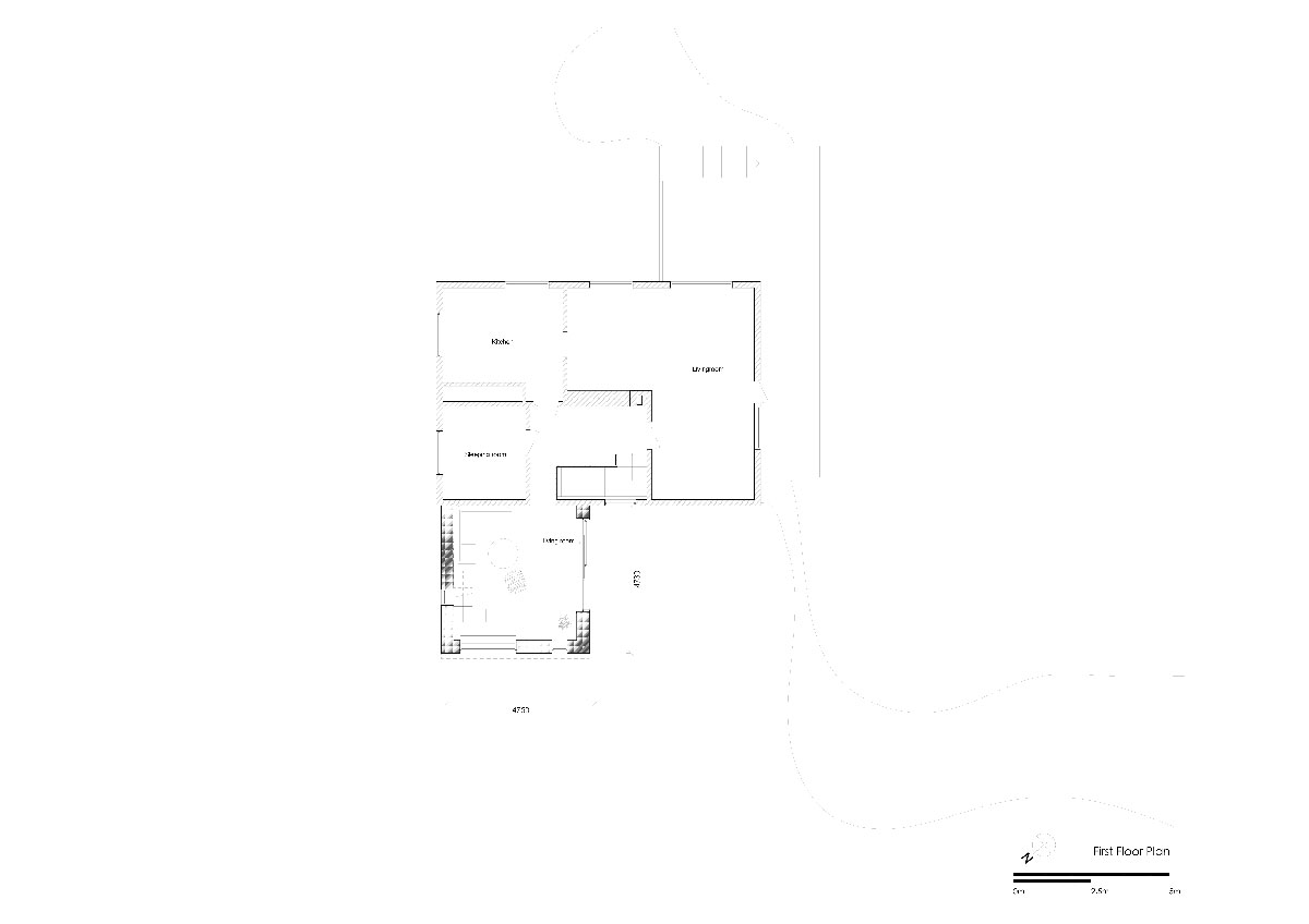 Arne Garborg Extension by TYIN tegnestue Architects - First Floor Plan