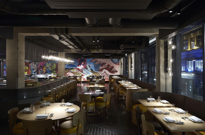 Chotto Matte Restaurant by Andy Martin Architect